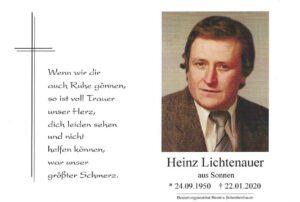 Heinz Lichtenauer