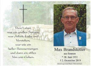 Max Brandstetter